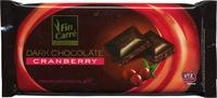 Dark chocolate Cranberry 57% cocoa - Producto