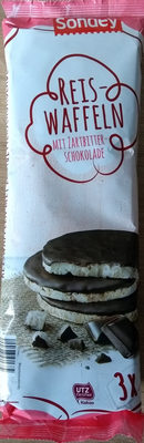 Snacky Cracky Reis Waffeln Zartbitterschokolade, Z... - Prodotto - de