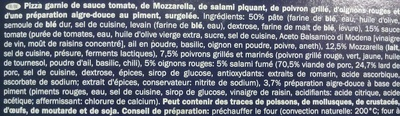 Pizza Arrabbiata - Ingredients