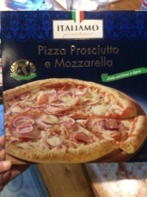 Pizza Proscuitto e Mozzarella - Produit - fr