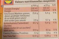 Galletas De Almendra, Mandelgebäck - Wartości odżywcze - pl