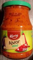Kania Ajvar mild - Produit - sv