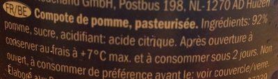 Compote de Pommes - Ingrediënten
