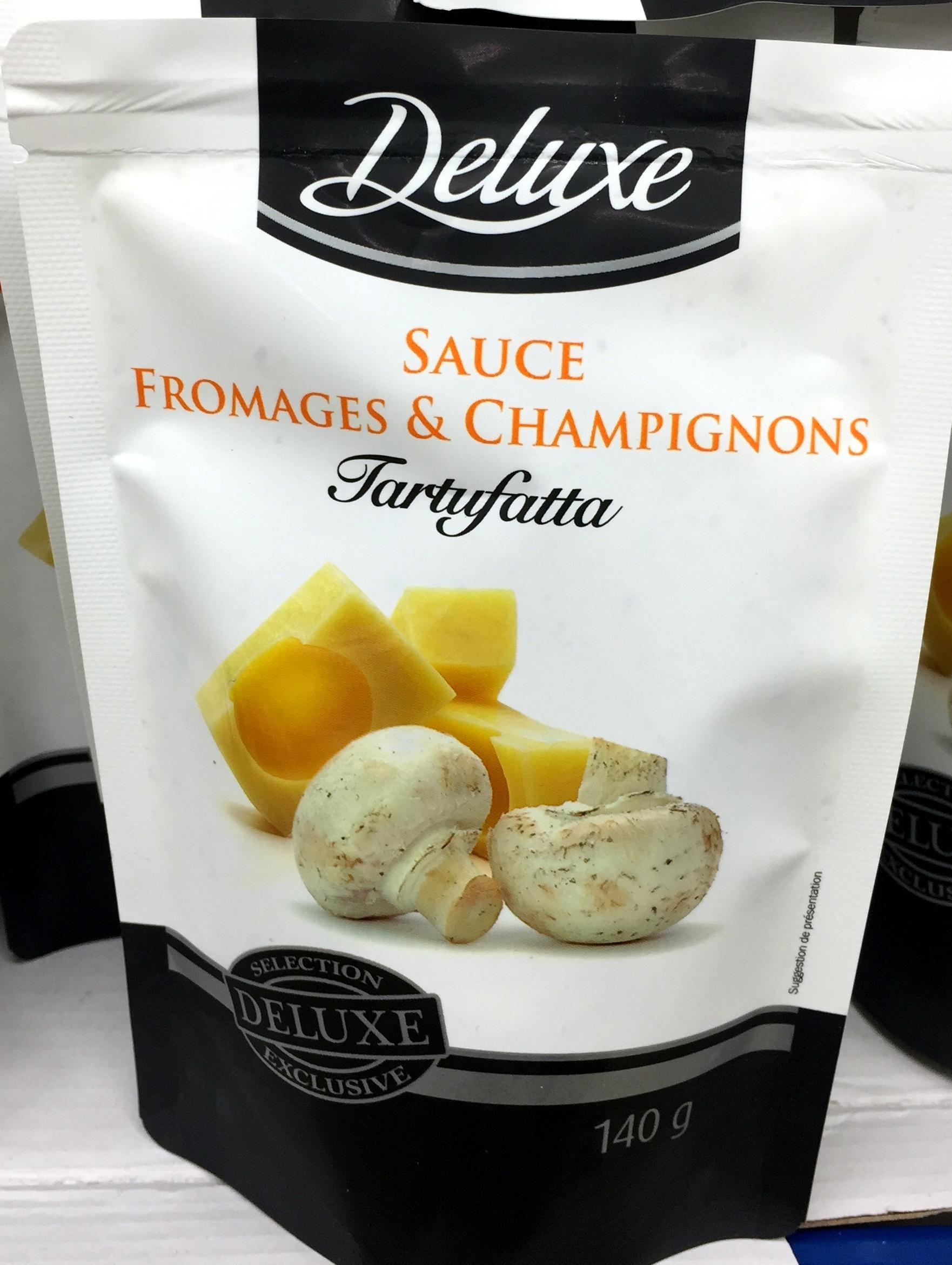 sauce fromage et champignons - Product - fr