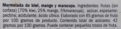 Mermelada de Kiwi, mango y maracuyá - Ingredientes