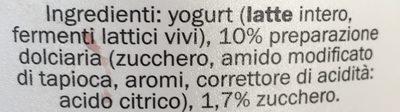 Fior Di Latte, Mit Milch - Ingredients