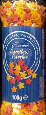 Estrellas decoracion pasteleria - Product