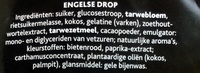 Engelse drop - Ingredients