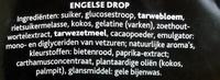 Engelse drop - Ingrediënten - nl