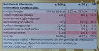 Miso Soup Paste, Vitasia, Miso - Nutrition facts - fr