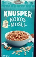 Knusper Müsli Kokos, Kokos - Product - de
