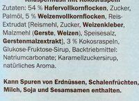 Knusper Müsli Kokos, Kokos - Ingredients - de