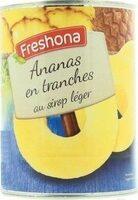 Ananas en tranches au sirop léger - Produkt - fr