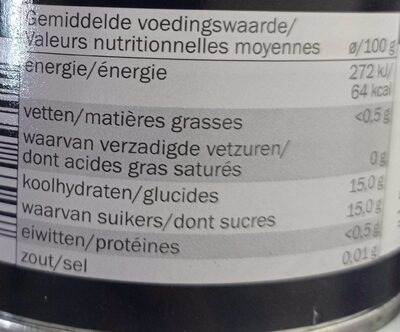 Ananas en tranches au sirop léger - Nährwertangaben - fr