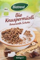 Bio Knuspermüsli Amaranth Schoko - Product