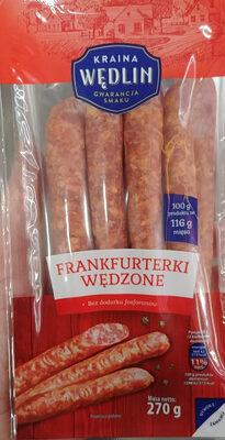 Frankfurterki wędzone - Produit - pl