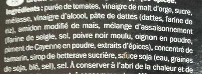 Brown Sauce - Ingrediënten