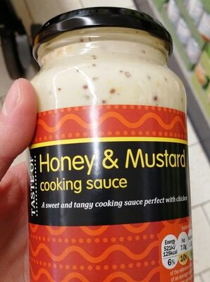 Honey and mustard cooking sauce - Product - en