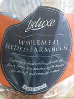 seeded wholemeal sliced bread - Produit - en