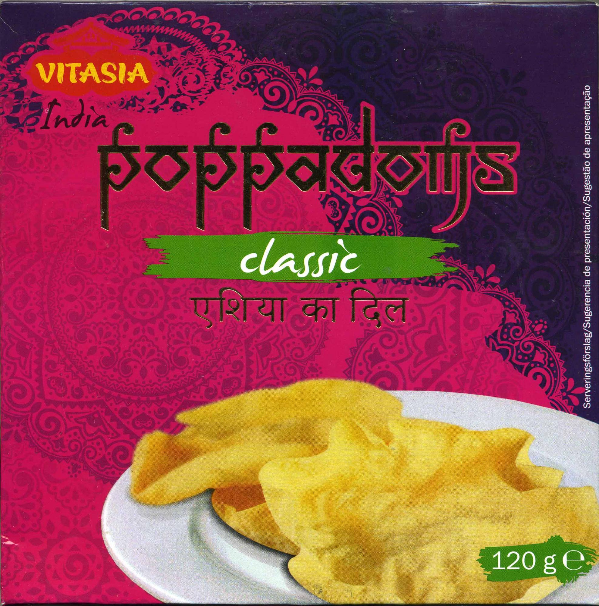Papadams - Producto - es