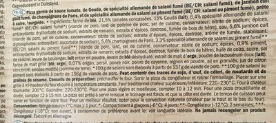Deliziosa - Ingrédients - fr