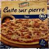Pizza au thon Cuite sur pierre pâte  fine - Producto