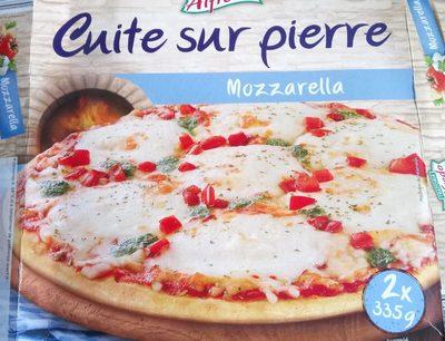Pizza Mozzarella cuite sur pierre - Product - fr