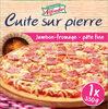 Pizza au jambon cuite sur pierre - Product