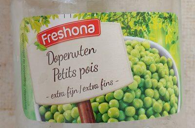 Freshona doperwten - 1
