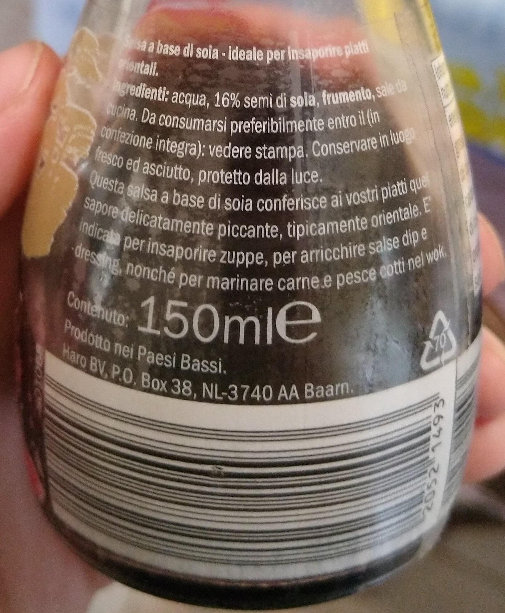 Salsa soja - Ingredienti - it