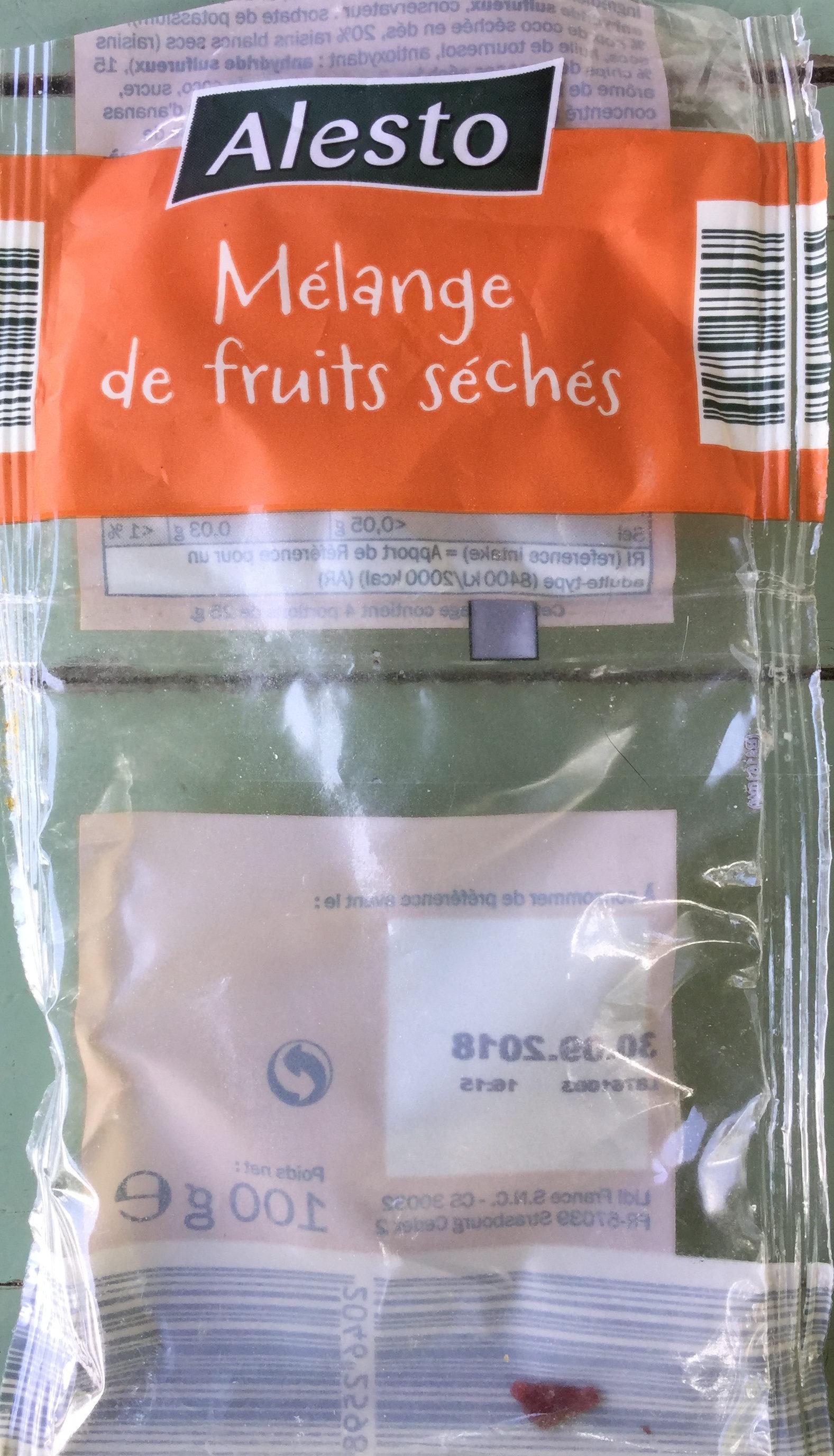 Mélange de fruits séché - Produit - fr
