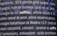 Poivrons Grillés Pour Bruschetta - Ingrediënten - fr