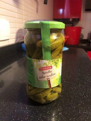 Pepinillos sabor anchoa - Produit