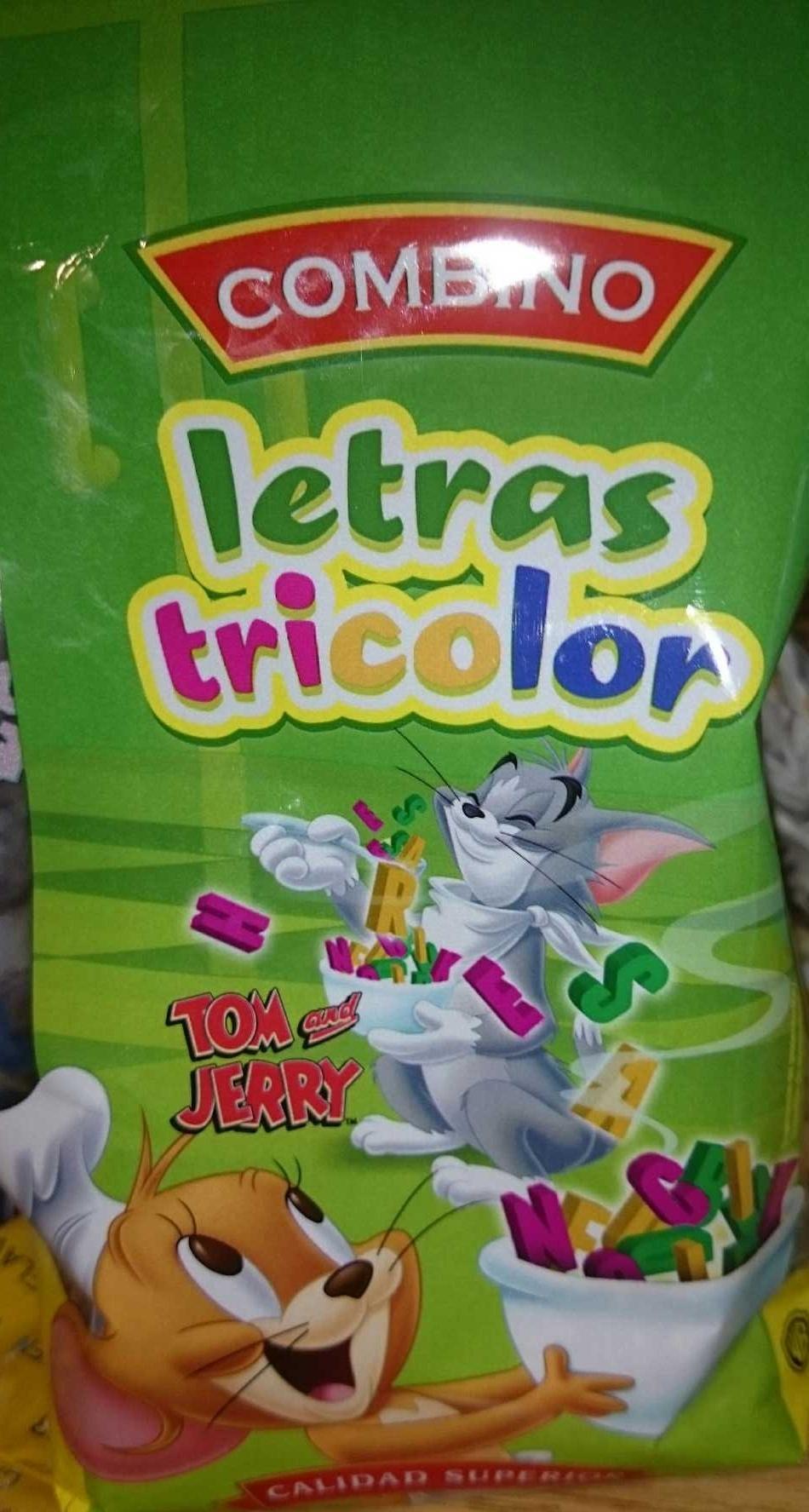 Letras tricolor - Produit - es