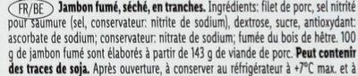 Pork loin - Ingrédients - fr