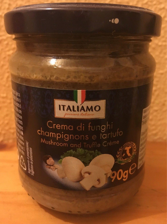 Crema di funghi champignons e tartufo - Product