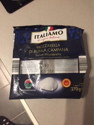 Kerst: Mozzarella Di Bufala Campana Dop Zakje 125 Gram (deluxe) - Producto - fr