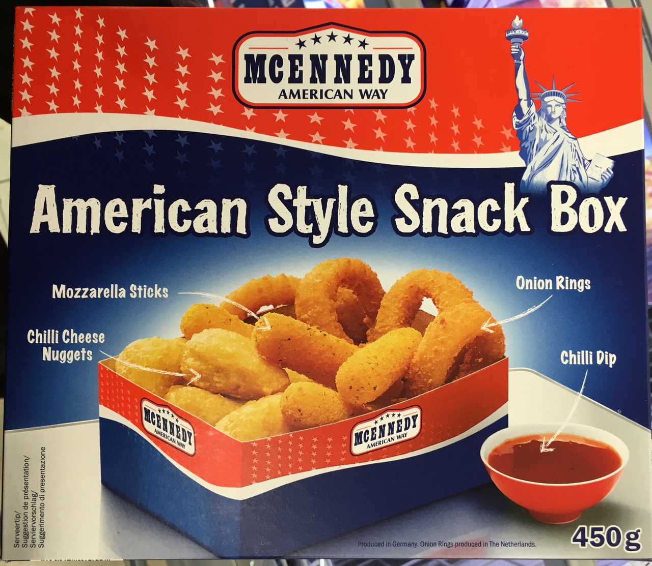 American Style Snack Box - Produkt - fr