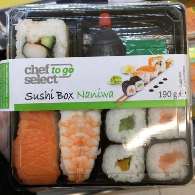 Sushi Box Naniwa - Product - fr