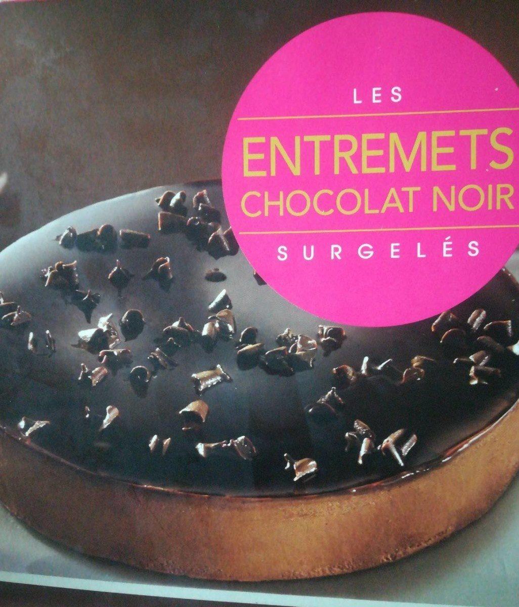 Entremet chocolat noir surgelé - Produit