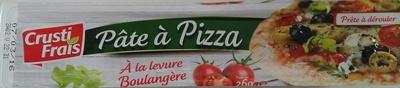 Pâte à pizza à la levure boulangère - Product - fr