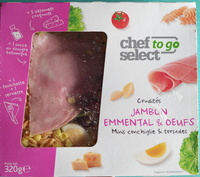 Crudités Jambon Emmental & Oeufs - Product - fr