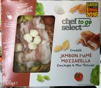 Crudités Jambon fumé Mozzarella Conchiglie & Mini-Torsades - Product - fr