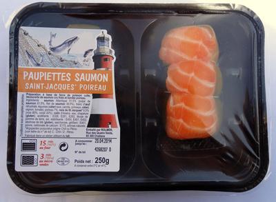 Paupiettes saumon-st jacques-poireau - Produit - fr