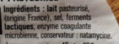 Petit St Paulin - Ingrediënten