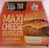 Maxi Cheese Burger - Produit - fr