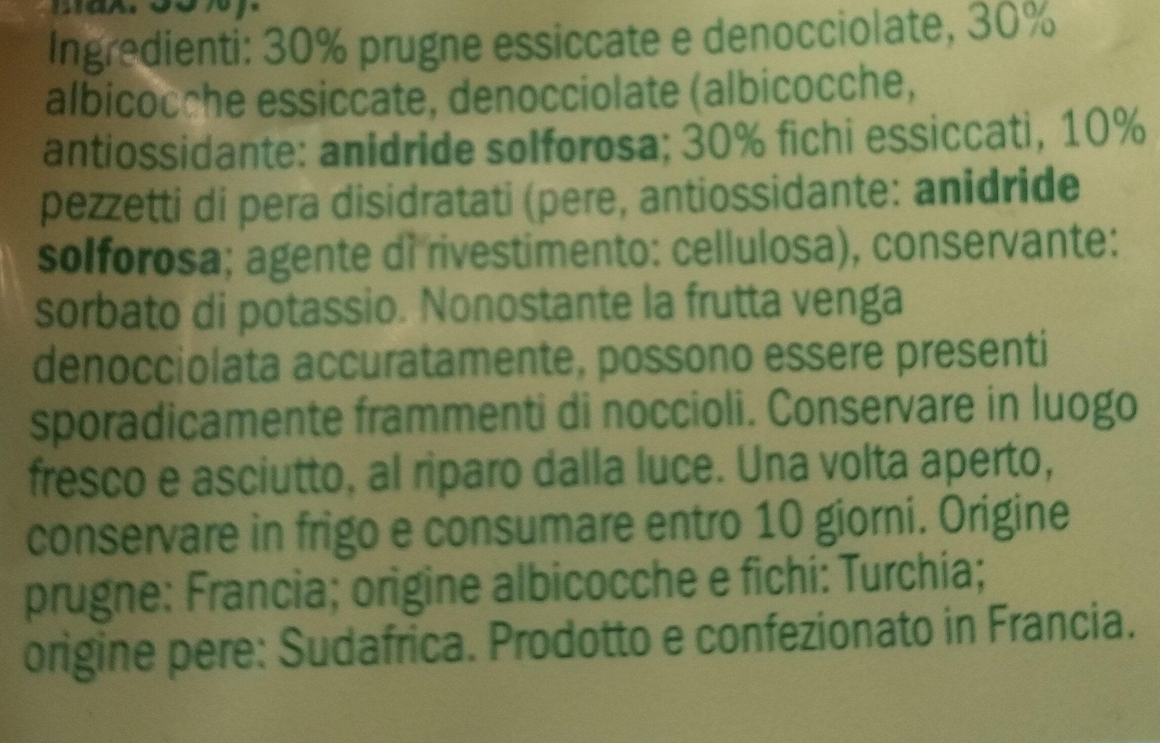 Alesto mixed fruits - Ingredienti - it