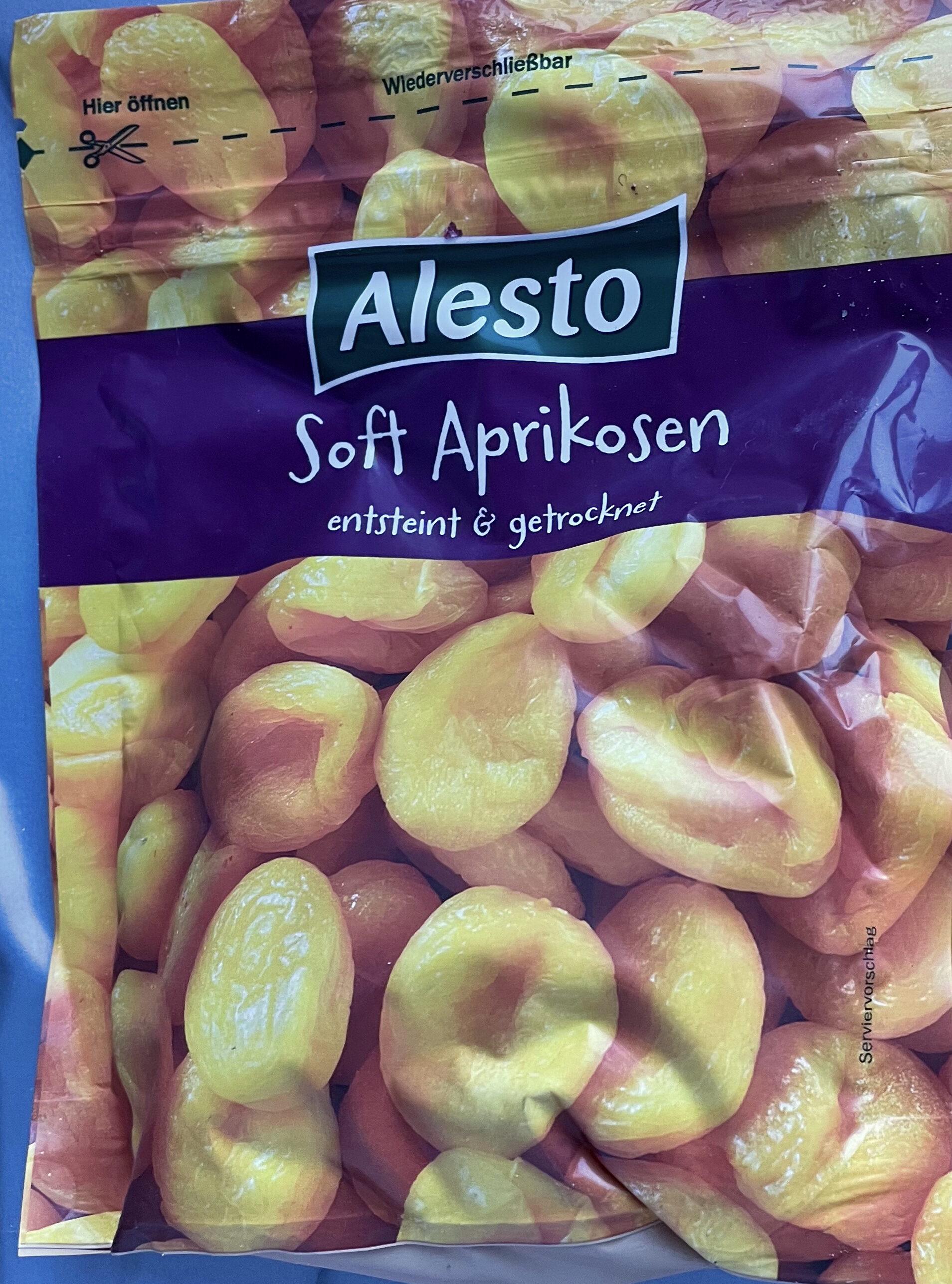 Soft-Aprikosen entsteint und getrocknet - Prodotto - de
