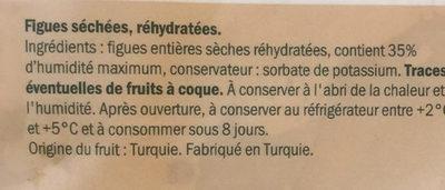 Figues moelleuses - Soft Feigen - Ingrédients - fr