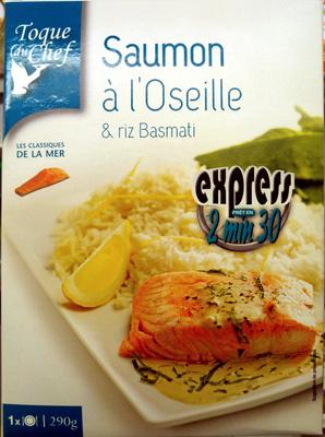 Saumon à l'Oseille & riz Basmati - Product - fr